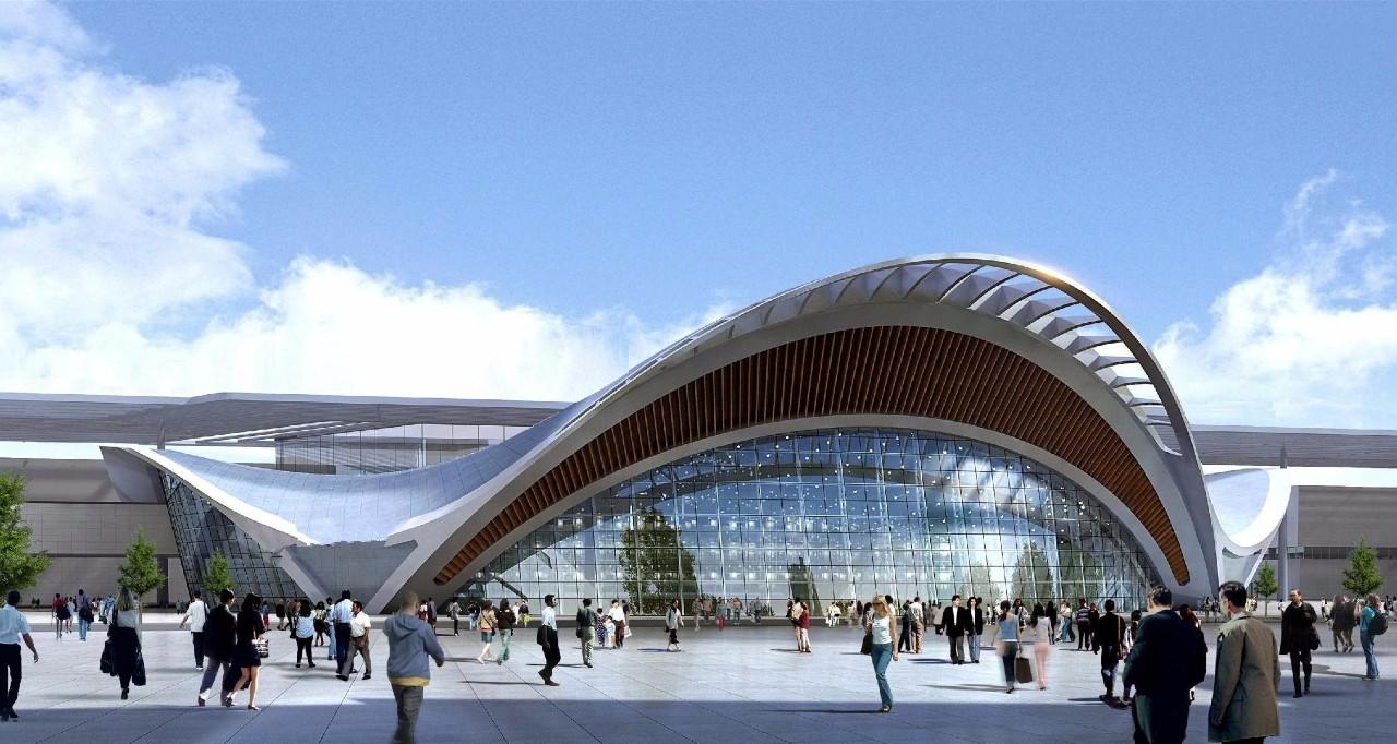 合肥滨湖国际会展中心登陆大厅